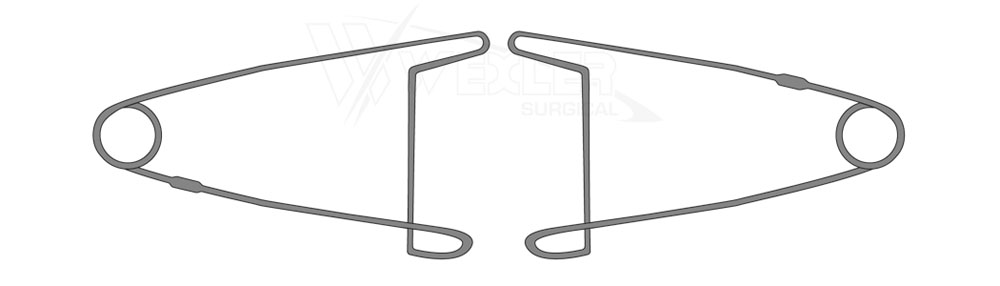 Jaffe Lid Retractor - One pair