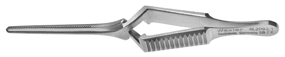 Diethrich Micro Bulldog Clamp - 20mm straight jaws