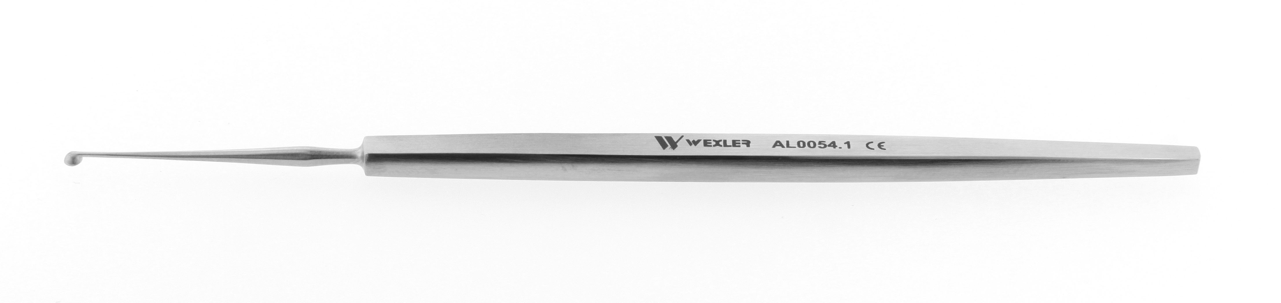 Meyerhoeffer Curette - Straight 2.5mm cup
