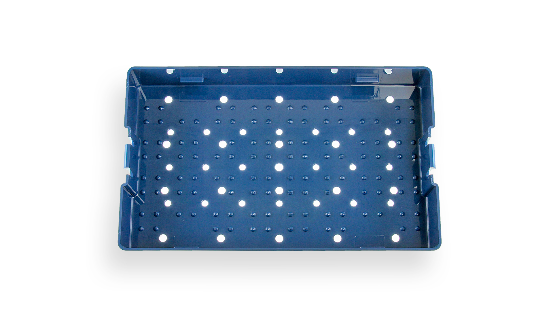 Instrument Sterilization Tray - Includes Deep Base/Lid
